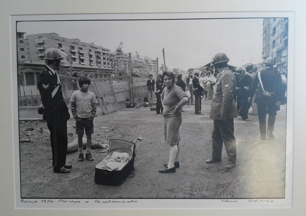 Tano D'Amico, Roma 1974. Presepe a Casal Bruciato
