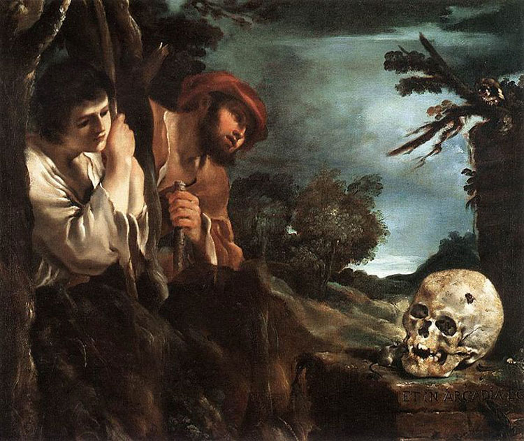Guercino, Et in Arcadia Ego