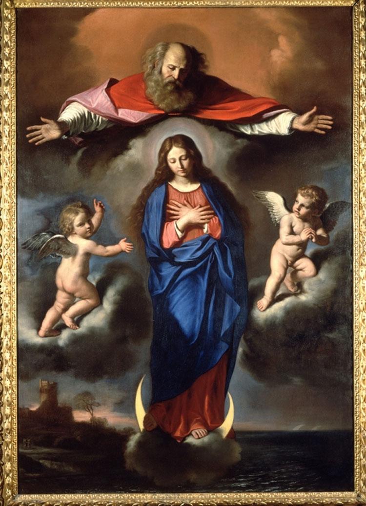 Guercino, Immacolata Concezione