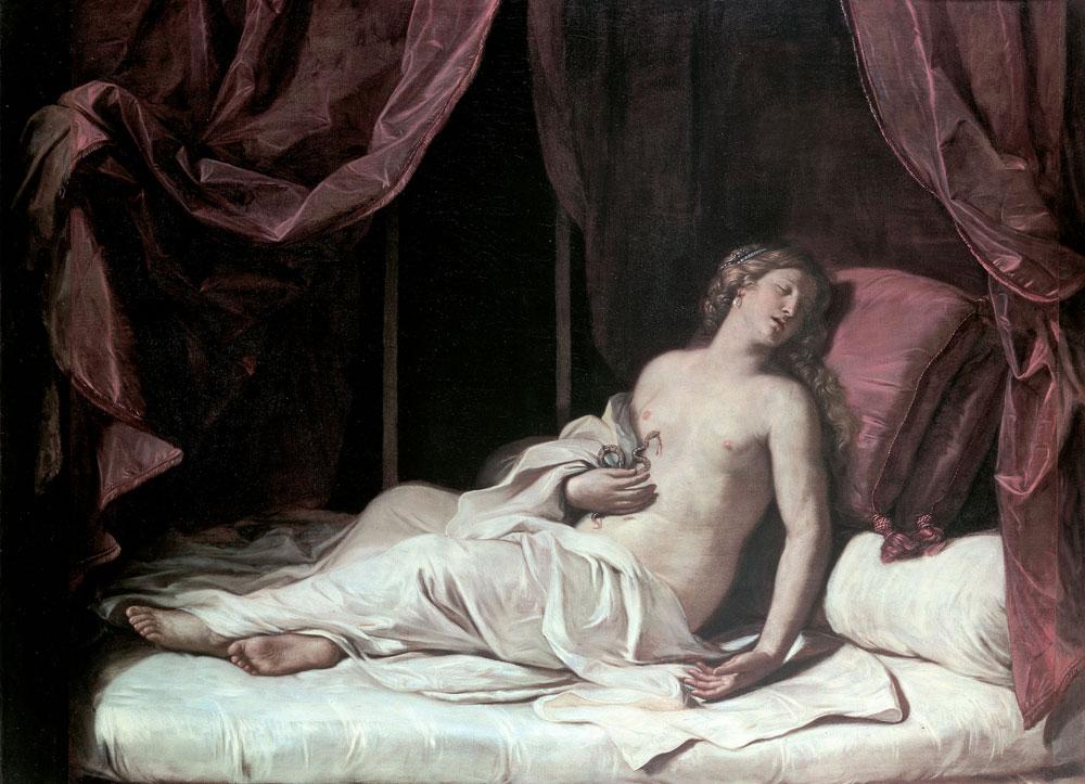 Guercino, Morte di Cleopatra