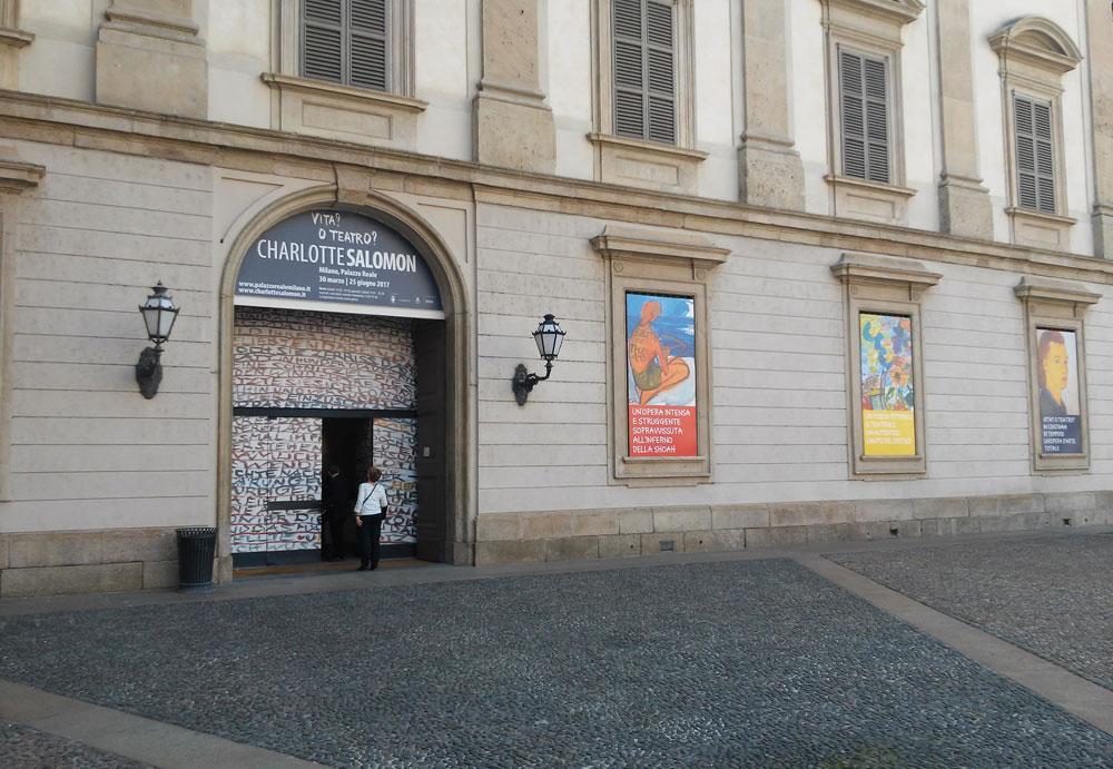 La mostra dei disegni di Charlotte Salomon a Milano, Palazzo Reale