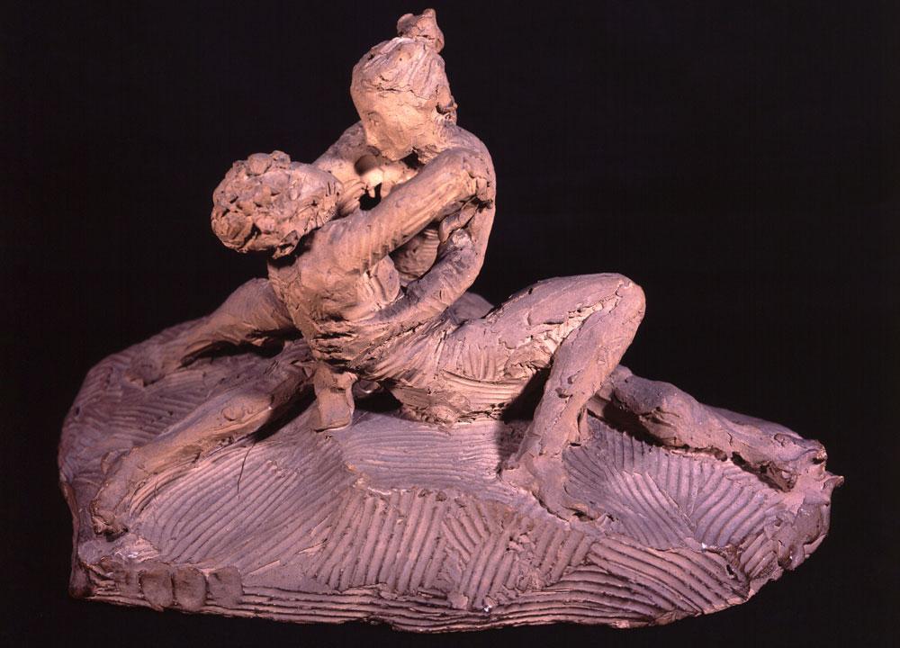 Antonio Canova, Amore e Psiche giacenti, terracotta