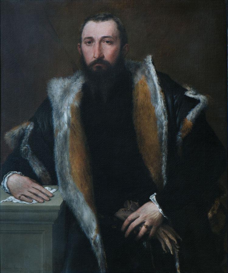 Lorenzo Lotto, Ritratto di Febo Bettignoli da Brescia