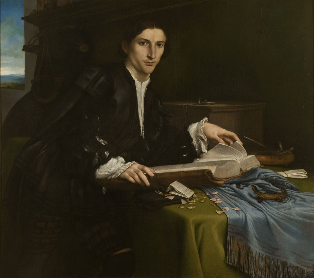 Lorenzo Lotto, Ritratto di gentiluomo di casa Rovero