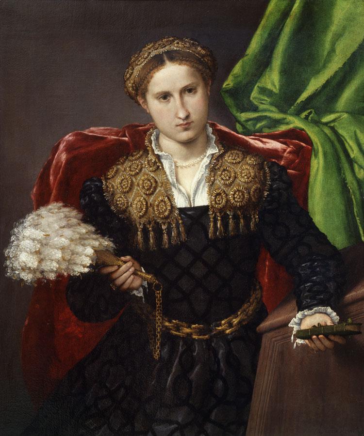 Lorenzo Lotto, Ritratto di Laura da Pola