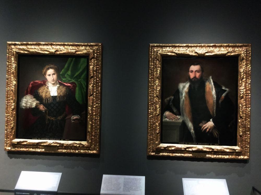Lorenzo Lotto, i ritratti di Febo da Brescia e Laura da Pola