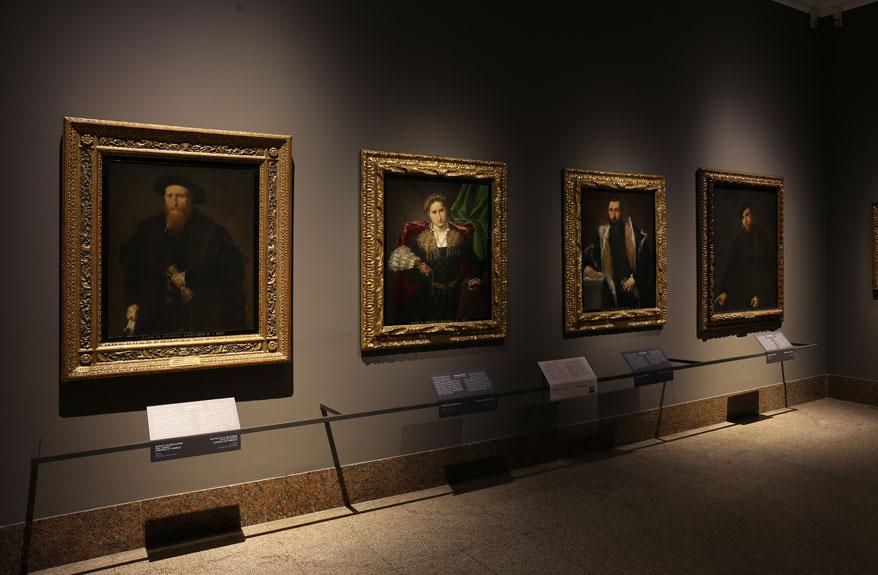Tutti i ritratti di Lorenzo Lotto della Pinacoteca di Brera
