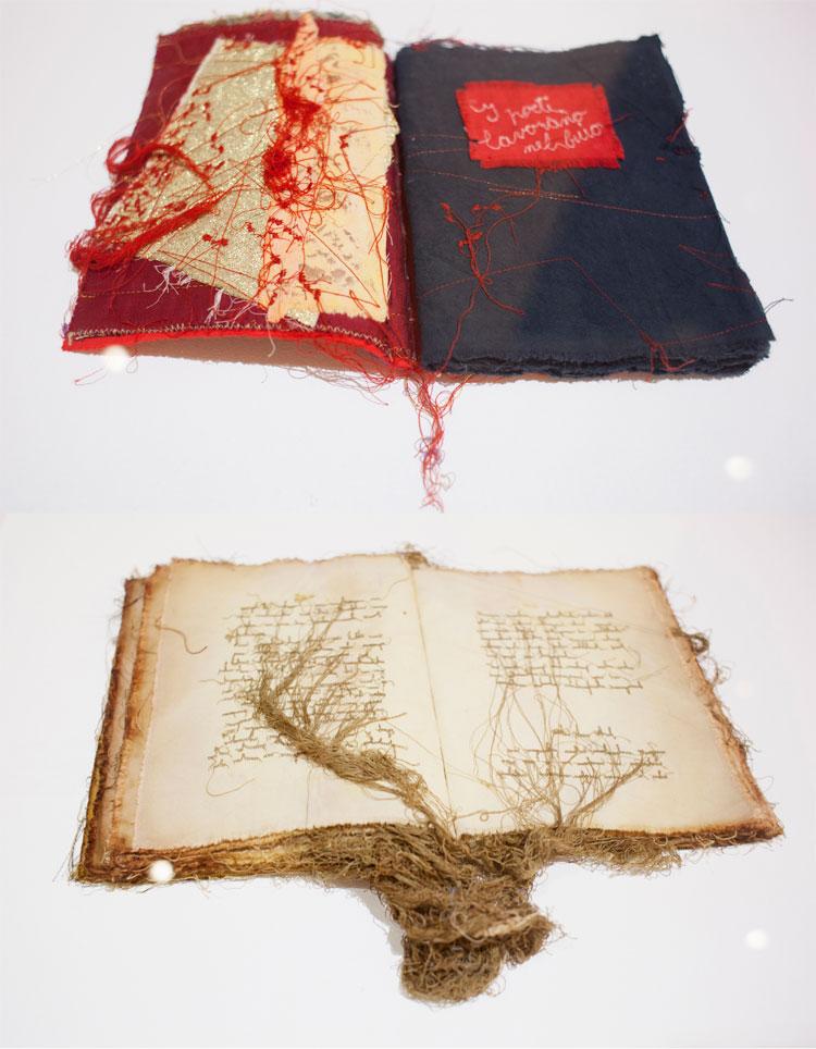 I libri cuciti di Maria Lai