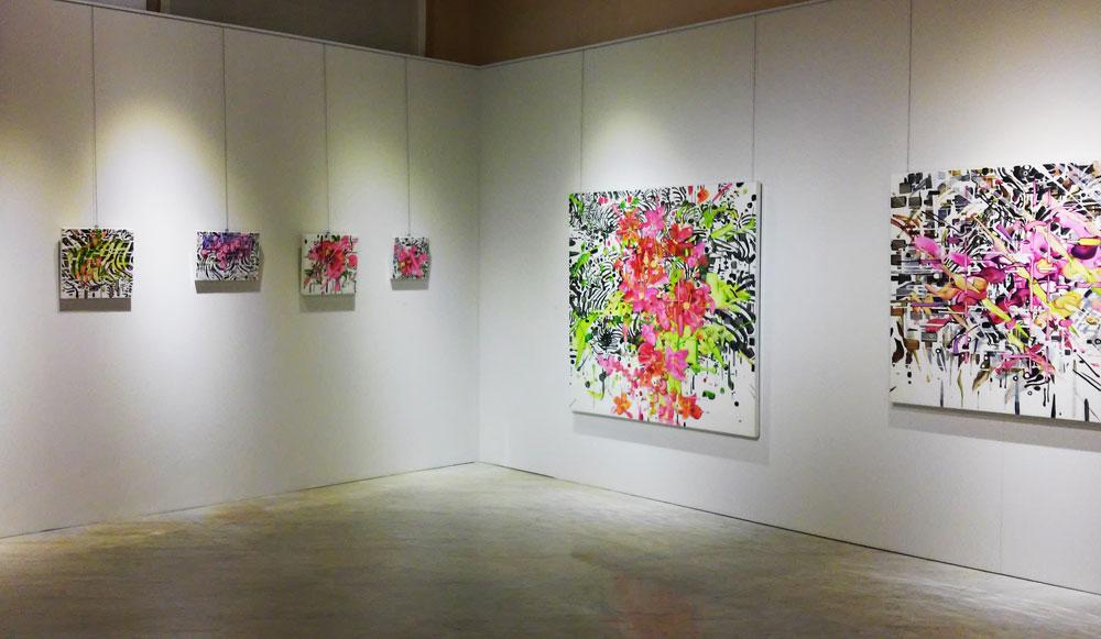 La mostra di Giuseppe Linardi a Carrara