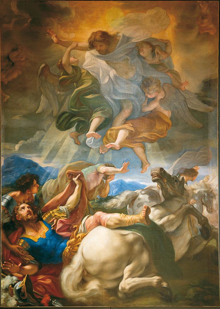Giovan Battista Gaulli detto il Baciccio, Conversione di san Paolo
