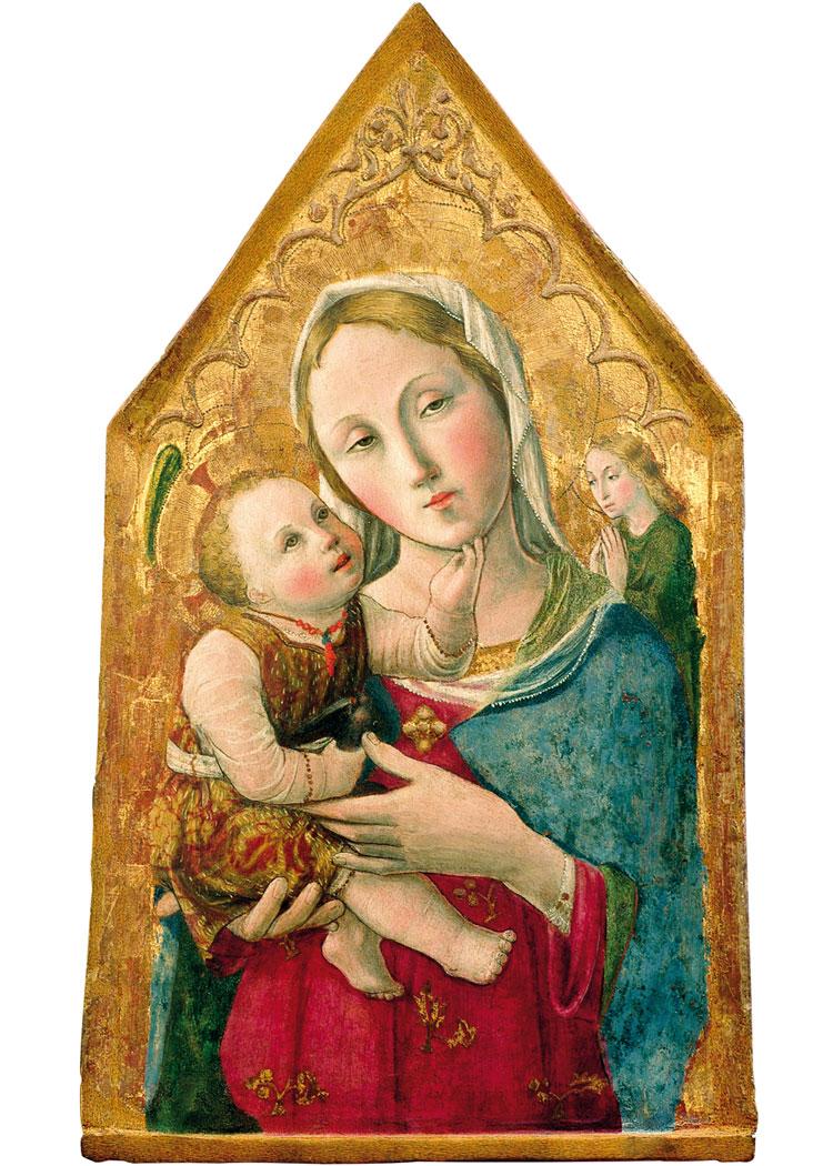 Lorenzo d'Alessandro, Madonna con il Bambino