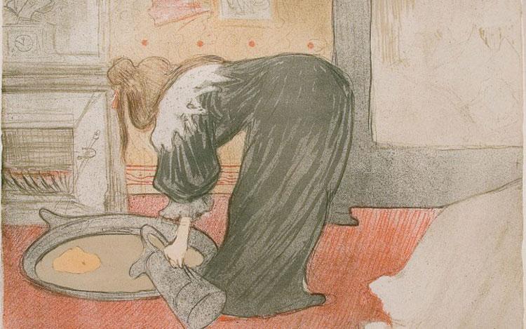 Henri de Toulouse-Lautrec, Femme au tub