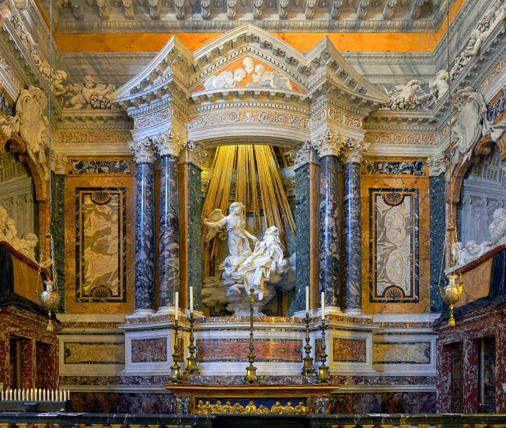 La cappella Cornaro in Santa Maria della Vittoria a Roma