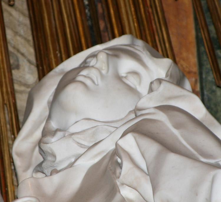 Il volto di santa Teresa