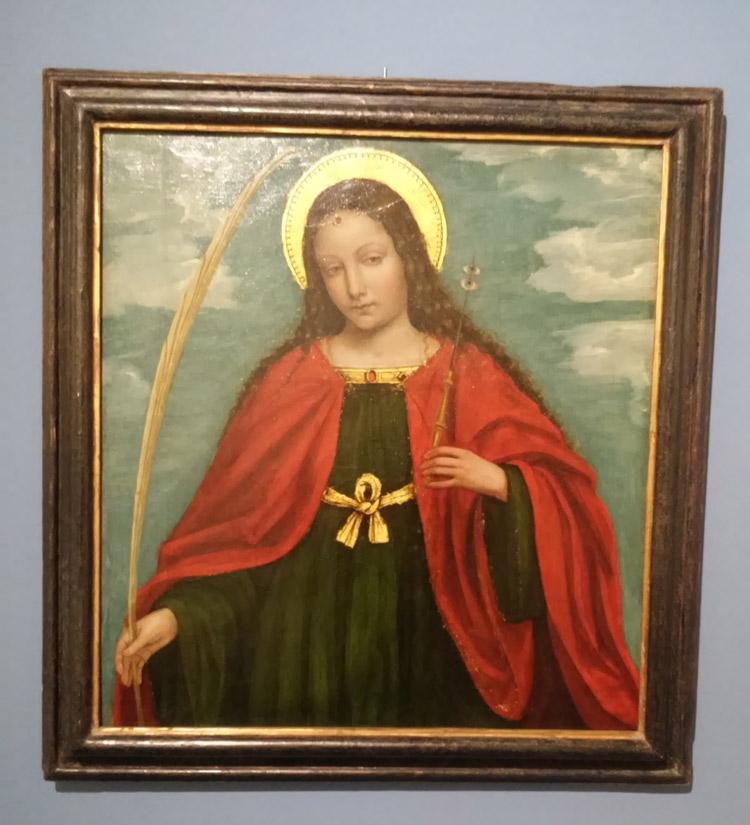 Ambrogio da Fossano detto il Bergognone, Santa Lucia