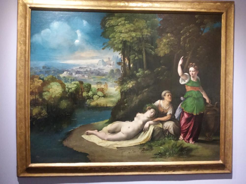 Dosso Dossi, Diana e Callisto