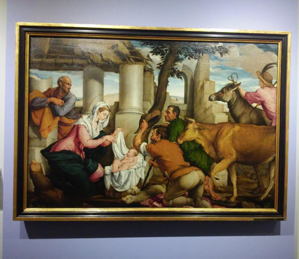 Jacopo Bassano, Adorazione dei Pastori