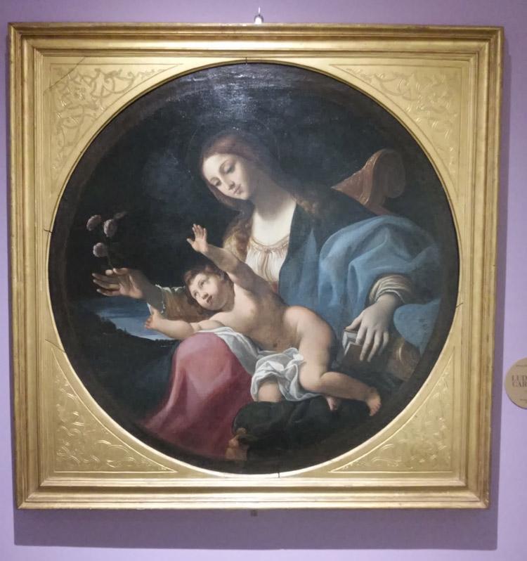 Ludovico Carracci, Madonna col Bambino