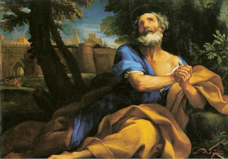 Carlo Maratta, San Pietro penitente