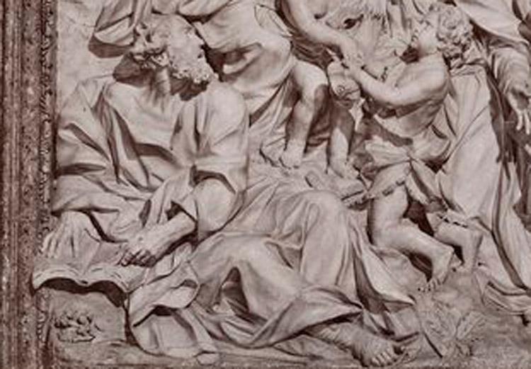 Domenico Guidi, Pala di sant'Agnese in Agone