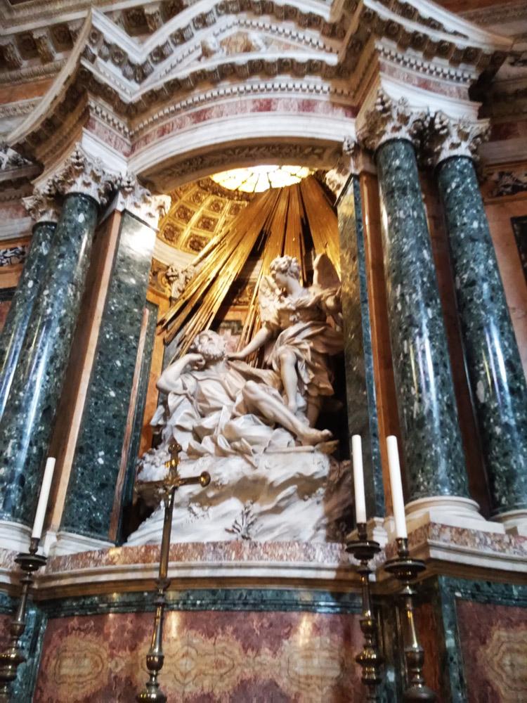 Domenico Guidi, Sogno di san Giuseppe