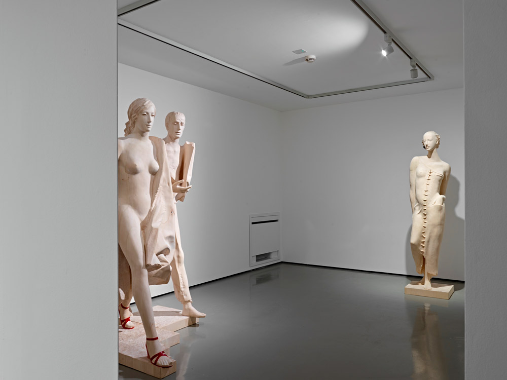 Opere alla mostra Legno | Lën | Holz a Trento