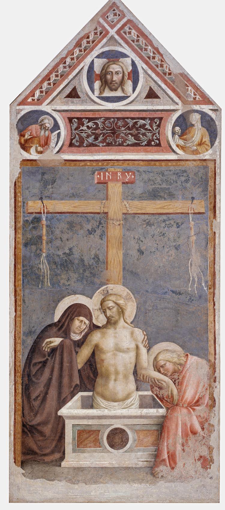Masolino da Panicale, Cristo in pietà