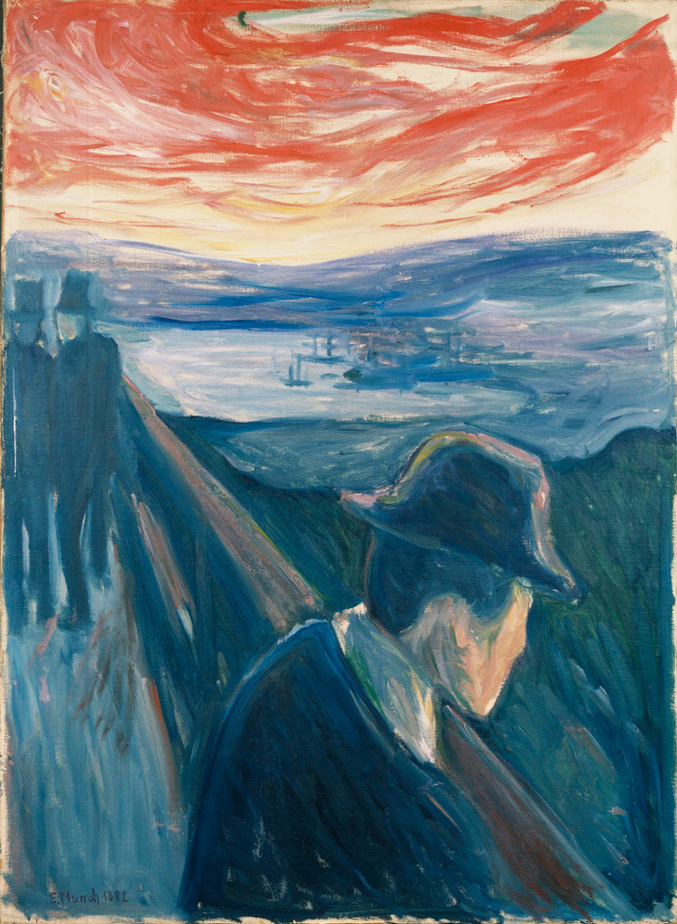 Edvard Munch, Disperazione