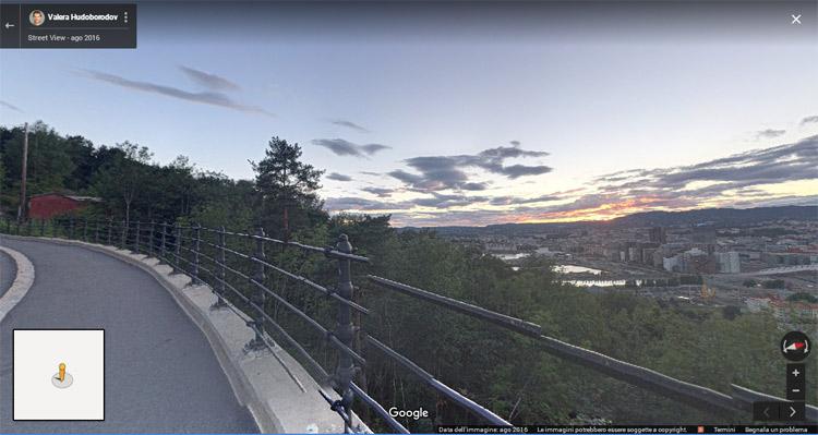 Oslo, localizzazione del luogo in cui è ambientato l'Urlo di Munch