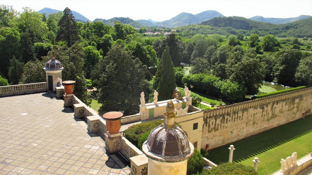 Il paesaggio che circonda il Castello del Catajo