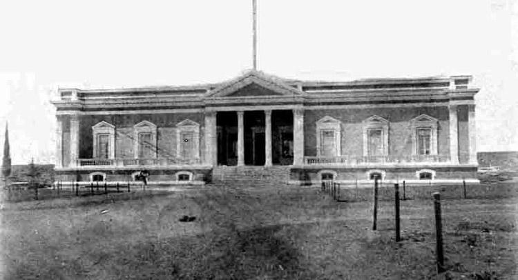 Asmara, il Palazzo del Governatore in una foto del 1905