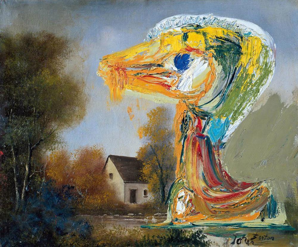 Asger Jorn, Le canard inquiétant