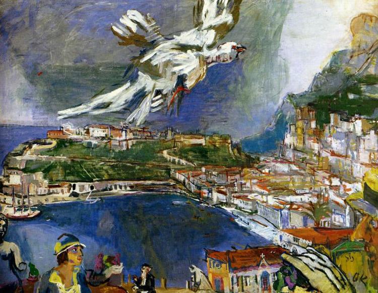 Oskar Kokoschka, Monte-Carlo