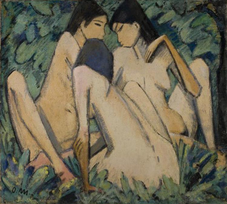Otto Müller, Tre ragazze