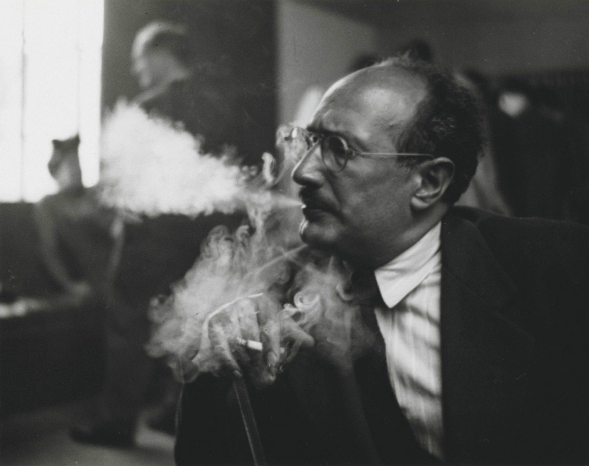 Mark Rothko fotografato da William Heick (1949-1950)