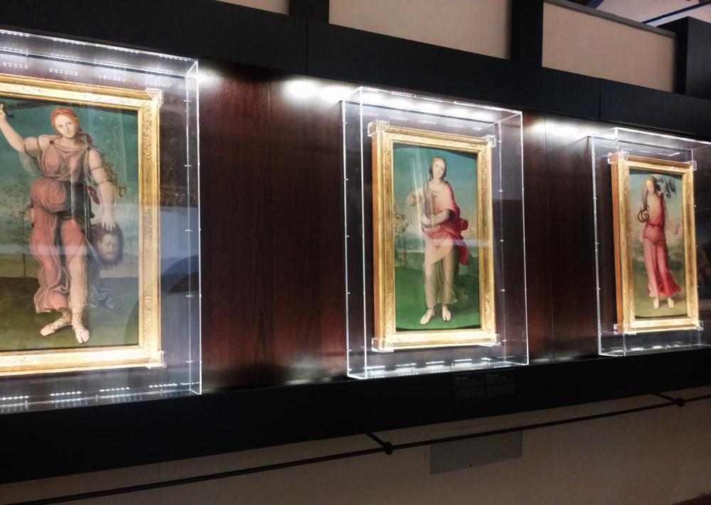 Domenico Beccafumi, Le tre eroine dell'antichità (Giuditta, Artemisia, Cleopatra)