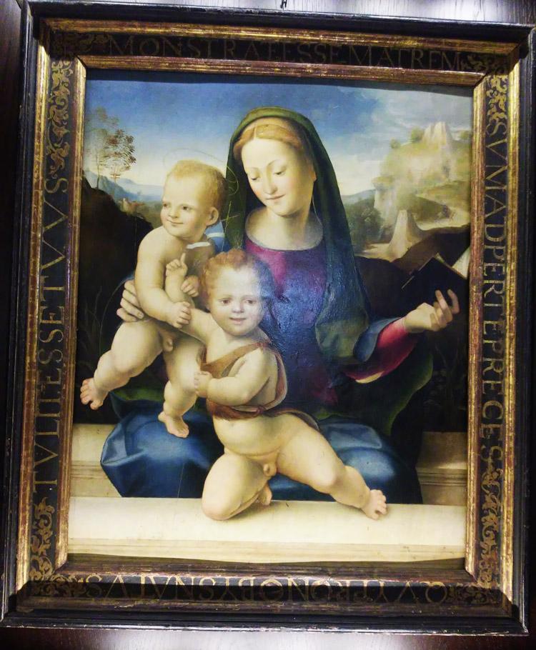 Domenico Beccafumi, Madonna col Bambino e san Giovannino