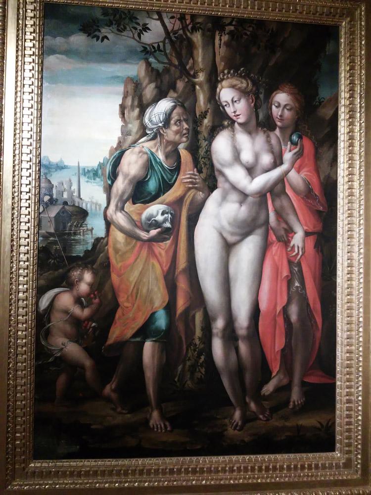 Marco Bigio (Giomo del Sodoma?), Venere o Le tre età della donna