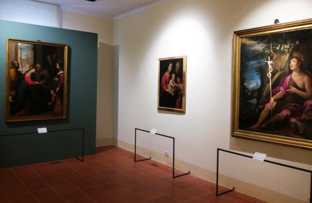Mostra Il buon secolo della pittura senese: la sezione di San Quirico d'Orcia