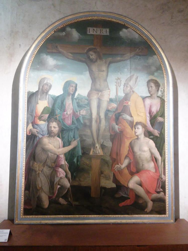 Bartolomeo Neroni detto il Riccio, Pala di Lucignano
