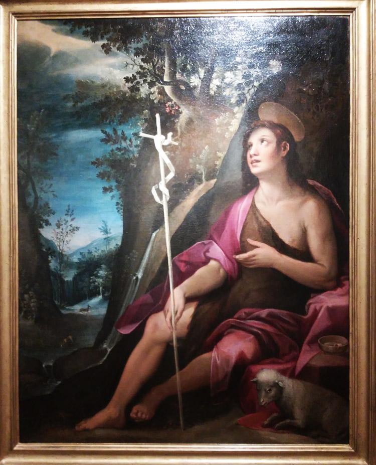 Francesco Rustici detto il Rustichino, San Giovanni Battista