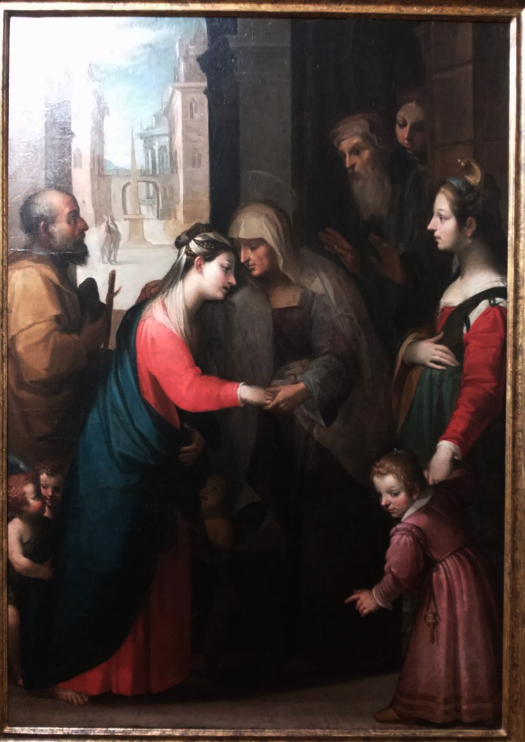 Francesco Rustici detto il Rustichino, Visitazione