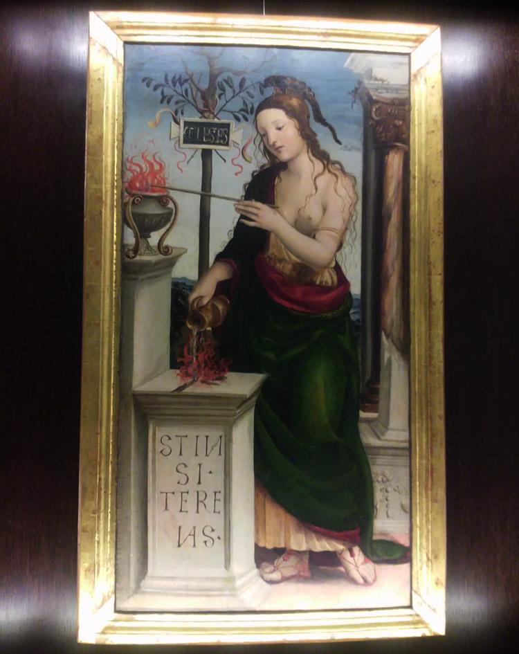 Giovanni Antonio Bazzi detto il Sodoma, Allegoria dell'Amor Celeste