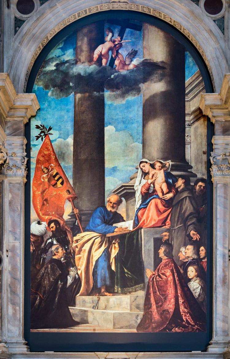 Tiziano, Pala Pesaro