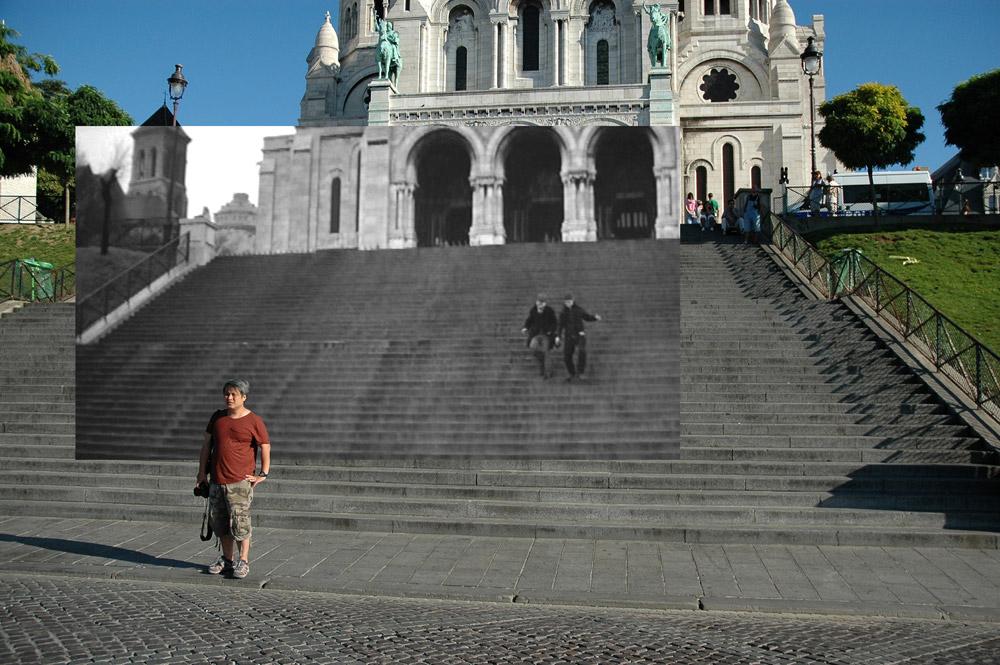 Gea Casolari, Still Here_Le quatre cents coupes - Escalier du Sacre Coeur