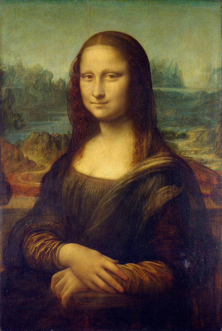 Leonardo da Vinci, La Gioconda