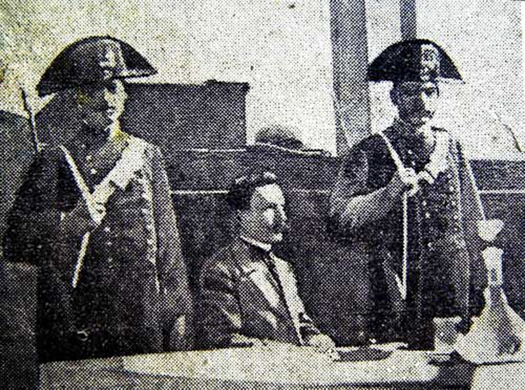 Vincenzo Peruggia al processo