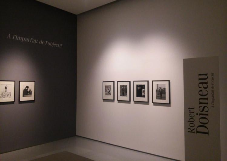 Una sala della mostra di Robert Doisneau a Lucca