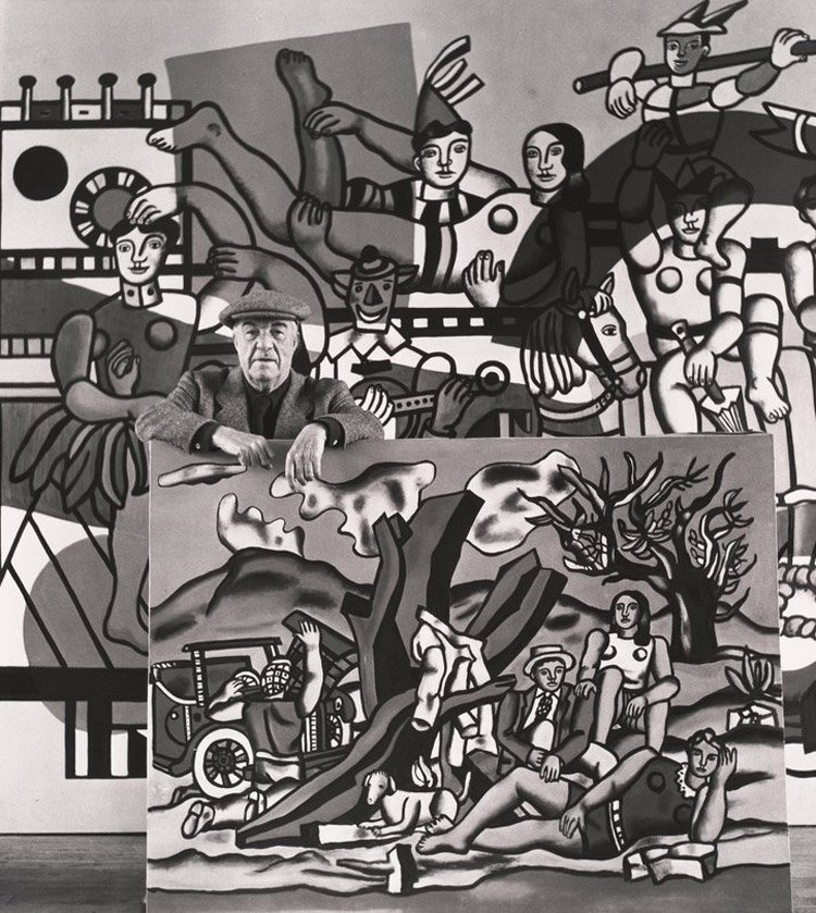 Robert Doisneau, Fernand Léger dans ses oeuvres