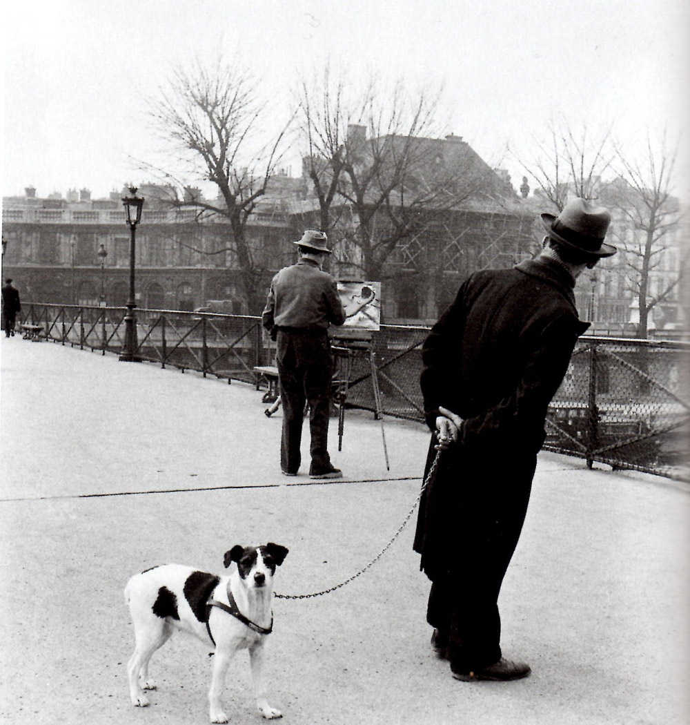Robert Doisneau, Fox terrier au Pont des Arts